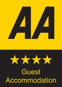 AA 4 star guest accommodation logo